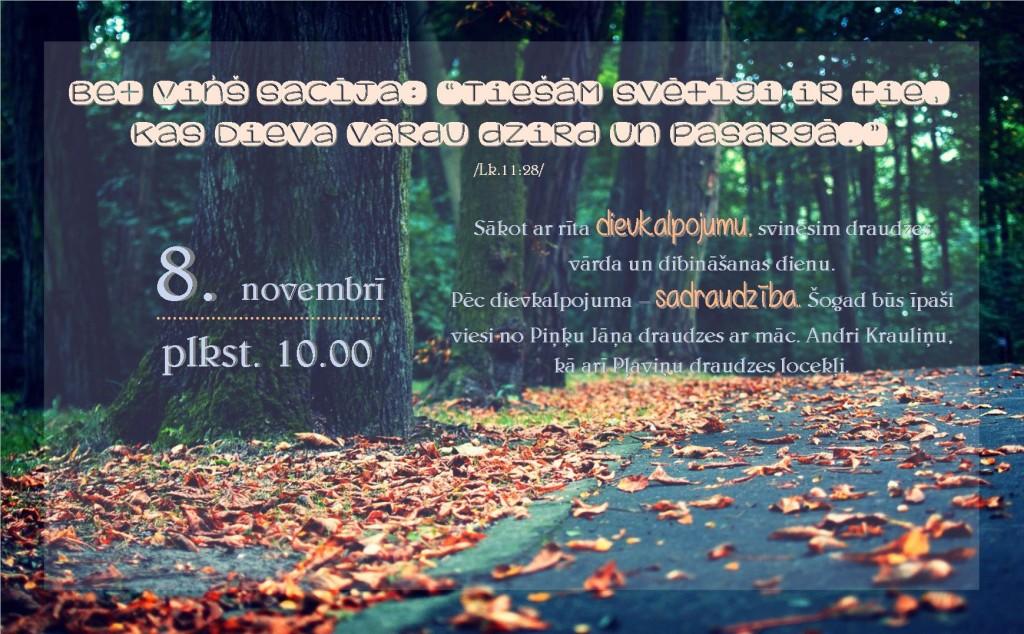 8. novembris