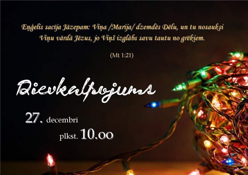 decembris- 27.